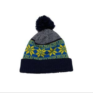 Warm Patterned Beanie